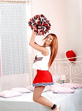 horny cheerleader with big sweet boobs