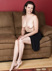 Lucia wears a sexy dress and skirt, and she shows off her beautiful hairy pits. She has hairy legs and almost two inches of hair on her hairy pussy. This all natural beauty has a hot figure and looks.