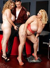 Samantha And Renee Threesome