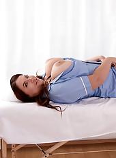 Nurse Big Tits Assturbation