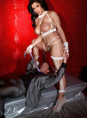 Big Areolae Stripper Fucks  On-stage