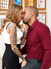 Juelz Ventura is moving to Chicago. This comes as a shock to her boss. He's willing to do anything to keep her, give her a raise perhaps, but Juelz has her mind set on leaving. There is something she would like to raise before she leaves though, HIS