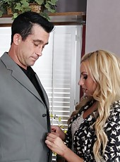 Lexi Belle fucks her boss to get ahead.