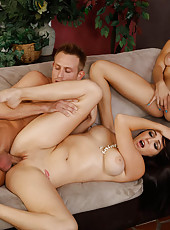 Holly Michaels and Natalia Starr heard that their friend, Bill, has backstage passes to upcoming concert. They really want to go. They're so bored and have nothing to do. The problem is that he already promised those passes to these other girls he&#0