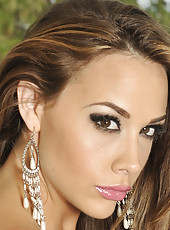 Chanel Preston horny outdoors