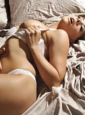 Chanel Preston horny masturbation