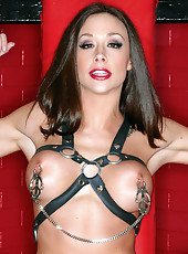 Chanel Preston bondage and toys