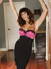 Chanel Preston waiting at home