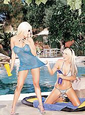 Gina Lynn Licks Sluts Pussy