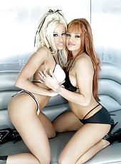 Gina Lynn Fucks Bella Donna