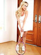 Gina Lynn Tennis Playing Pics
