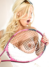 Gina Lynn Tennis Playing Pics