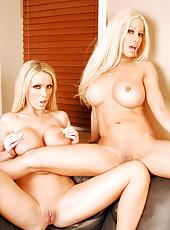 Gina Lynn passionate lesbian sex