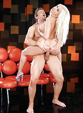 Whore called Gina Lynn screwed rough