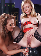 Nina Hartley and Roxanne Hall MFF