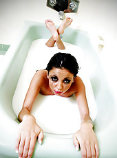 Audrey Bitoni masturbating solo