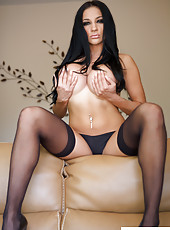 Audrey Bitoni Showing Tits Pics
