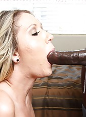 Sweet milf Alysha Rylee hard ass fucked by big guy on second floor