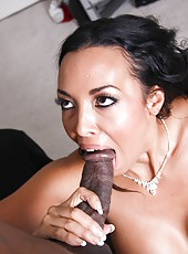 Latina mom Rio Lee love black cock in her tight pussy and asshole