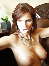 Hot mom pornstar Syren Demer love suck and fuck huge black dongs