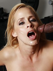 Sexy hot milf Payton Leigh fucking hard by big black cock