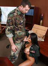 General Jenaveve Jolie knows that this recruit has powerful big cock