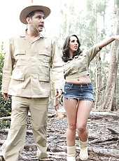 Sexy Kelly Divine enjoys hardcore anal fucking in the in the tent