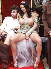 Hardcore medieval fuck with busty brunette Missy Martinez