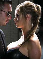 Hardcore fuck with a horny and passionate milf whose name is Nikki Benz