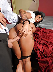 Hottest cop in the world Kerry Louise fucking hard with a huge dick