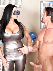 Audrey Bitoni works in the local agency and enjoys hardcore fucking in the office