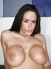 Horny whore Carmella Bing proves that she can give the best blowjob in the world
