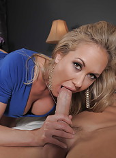 Always charming busty Brandi Love presents him unforgettable sex