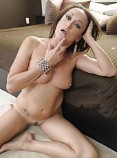 Hot long legged milf Michelle Lay is always ready for something hot with a big cock