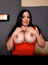 Hungry for sex Sophia Lomeli spreading shaved pussy and waiting for a cock