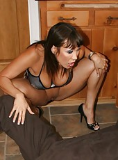 Unpredictable Asian milf Ava Devine making a first-class deepthroat
