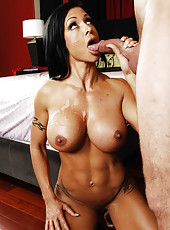 Hardcore fuck with a beautiful and hot brunette minx Jewels Jade