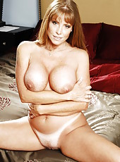 Naughty and passionate mature Darla Krane undresses her clothes