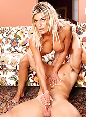 Wild and crazy fuck with a fabulous blonde minx named Klarisa Leone