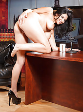Super hot black haired milf Missy Martinez and her amazing ass together with big tits
