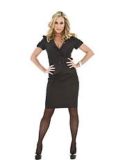 Busty blonde girlfriend Brandi Love undresses her sexy dress