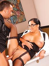 So hot office lady as Sophia Lomeli doesn