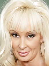 Buxom mature blonde Britney O