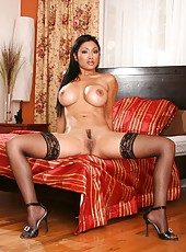 Ravishing Asian babe Priya Anjali Rai strips and shows off her astounding body