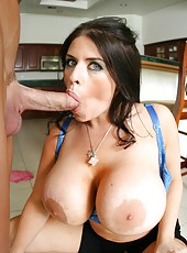 Daphne Rosen needs to be fucked hard with her boundless breast and hungry trimmed pussy
