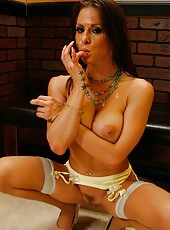 Gorgeous milf with flawless round tits Rachel RoXXX got a big cock in her ass