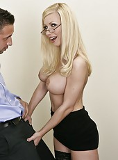 Awesome blonde bitch Helena Sweet is ready for a hardcore fuck