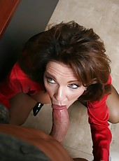 Awesome fuck with a dangerous and busty mature named Deauxma