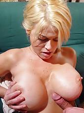 Amazing Carolyne Monroe is a super busty blonde milf that enjoys hardcore love
