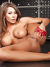 Taste amazing succulent big tits and alluring shaved pussy by Madison Ivy